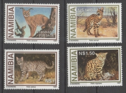 Namibia 1997 - Gatti Selvatici Wildcats MNH ** - Namibia (1990- ...)