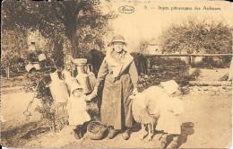 Sujets Pittoresques Des Ardennes - Fermière - Mouton - Enfants - Fermes
