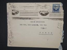 ESPAGNE - Enveloppe De Barcelonne Pour Paris En 1936 Avec Censure - à Voir - Lot P7573 - Republikanische Zensur