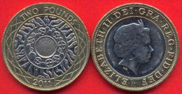 Great Britain UK 2 Pounds 2011 AUNC - 1971-… : Decimal Coins