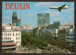 Deutschland - AK - Berlin / Flugzeug über Der Stadt - Deutschland