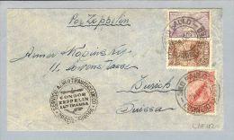 Brasilien S.Paulo 1931-09-19 Condor Zeppelin In Die Schweiz - Poste Aérienne