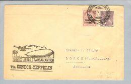 Brasilien Condor-Zeppelin 1932-05-04 Brief>Deutschland - Poste Aérienne
