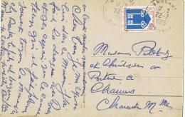 13620. Postal ANGLADE (Gironde) 1966. Vue Le Pont De BETHARRAM - 1941-66 Escudos Y Blasones