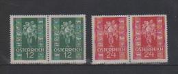 """�sterreich 1937: """"Gl�ckwunschmarken"""" kpl.Satz PAARE postfrisch Luxus(siehe Foto/Scan)"""
