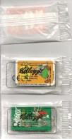 BD-ASTERIX-3 MINI JEUX2006-KELLOGGS--ASTERIX-ROUGE -ORANGE- VERT-Sous EMBALLAGE-KELLOGGS-NEUF -TBE - Astérix