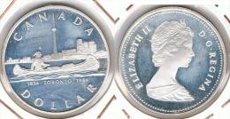 CANADA DOLLAR 1984 TORONTO PLATA SILVER G1 - Canada