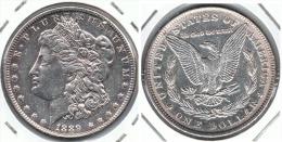 EE.UU. USA DOLAR MORGAN 1889 PLATA SILVER G1 - 1878-1921: Morgan