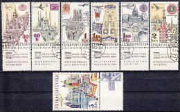 TSJECHOSLOWAKIJE - Michel - 1967 - Nr 1738/44 - Gest/Obl/Us - Usati