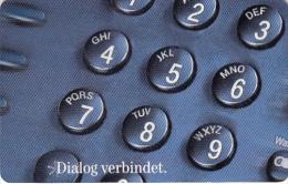 GERMANY(chip) - Dialog Verbindet(A 01), Tirage 42000, 02/98, Used - A + AD-Series : Publicitarias De Telekom AG Alemania