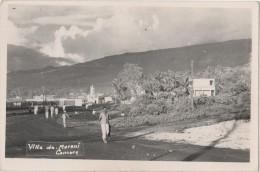 Carte Photo COMORES MORONI - Comores
