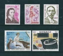 Monaco Timbres De 1982  Neufs** N°1344 A 1348 - Nuovi