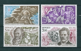 Monaco Timbres De 1983  Neufs** N°1387 A 1390 - Neufs