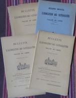 BULLETIN ASSOC. NATURALISTES VALLÉE DU LOING 1929 (COMPLET) NEMOURS PRÉHISTOIRE MORET,EAUX POUR PARIS,ENTOMOLOGIE,OISEAU - Ile-de-France