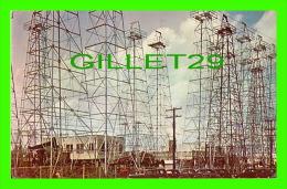 DALLAS, TEXAS - OIL DERRICKS, TYPICAL EAST TEXAS OIL FIELD - PUB. BY TEXACOLOR CARD CO - - Dallas