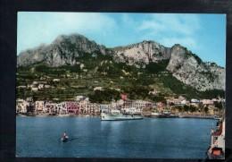 D3222 ISOLA DI CAPRI ( Napoli )  MARINA GRANDE CON TRAGHETTO - NAVI SHIP BATEAU - ED. CASA DEL GIORNALE (CDGN) 403 - Autres Villes
