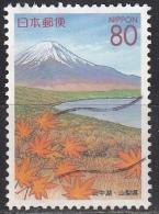 Japan, 1999 - 80y Yamanakako - Nr.Z327 Usato° - 1989-... Imperatore Akihito (Periodo Heisei)