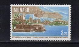 Monaco Timbres De 1986  Neufs** N°1540 (vendu A La Faciale) - Ungebraucht
