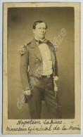 CDV Militaire 1860-70 Charles Billotte & Cie à Bruxelles. Napoléon Lahure, Directeur Général De La Marine De Belgiqu - Photographs
