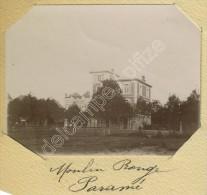 Petite Photo Du Moulin Rouge à Paramé. Vers 1898. - Foto's