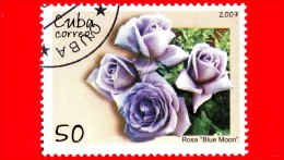 CUBA - Nuovo Oblit. - 2007 - Fiori - Rose - Blue Moon - 50 - Cuba