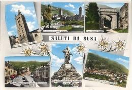 CPSM - SUSA - SALUTI DA …. - Edition G.Cerutti - Andere Steden