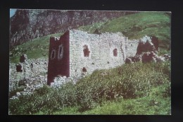 North Caucasus, Russia, Chechnya. Erzi Village Tower - 1974 - Tchétchénie