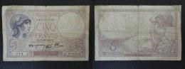 BILLET 5 FRANCS VIOLET - 12 12 1940 - C 67232 - 329 - 1680777329 - 5 F 1917-1940 ''Violet''