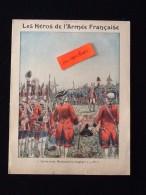 """Ancien Protège-cahier Illustré Les Héros De L´ Armée Française N° 1 """" - Protège-cahiers"""