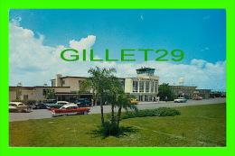 TAMPA, FL - THE TERMINAL AT TAMPA INTERNATIONAL AIRPORT - WARD BECKETT - TRAVEL IN 1960 -