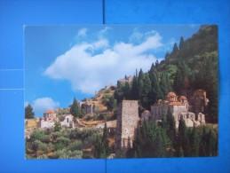 84 ) Grece: 1 Cp :  Mystra  Vue Partielle  :recto Et Verso - Greece