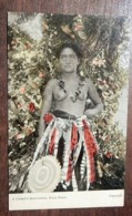 Carte Postale Ancienne : A Chief's Daughter, PAGO PAGO, Naked, Seins Nus, TRES RARE - Samoa Américaine