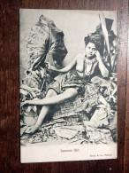 Carte Postale Ancienne : Samoan Girl, Naked, Seins Nus - Samoa