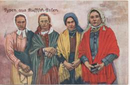 Nr. 1640, Russisch-Polen, Trachten Und Typen - Europe