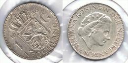 HOLANDA  GULDEN 1956 PLATA SILVER G1 - [ 3] 1815-… : Reino De Países Bajos