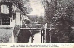 LA FERTE GAUCHER 77 ( Militaria ) Le Pont De La Propriété De Mme DELBET Ou Passèrent 18.000 Allemands - CPA Seine Marne - La Ferte Gaucher
