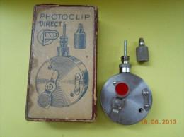 VINTAGE ET RARE - Photo-Clip Recta, Diam:32mm.  (M&V). RETARDATEUR  Pour Collectioneur - Matériel & Accessoires