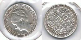 HOLANDA 10 CENTS GULDEN 1937 PLATA SILVER G1 - [ 3] 1815-… : Reino De Países Bajos