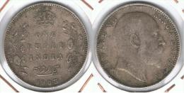 INDIA RUPIA RUPEE EDUARDO 1903 PLATA SILVER G1 - India