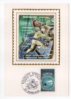 1971--Carte Maximum-Soie-BORDEAUX-OCEANEXPO-Exploitation Des Océans---signée Chesnot-cachet  BORDEAUX--33 - Cartes-Maximum