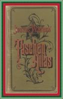 TASCHEN ATLAS  - JUSTUS PERTHES -  1914 - Alemania Todos