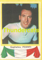 163 GUGLIELMO PESENTI ITALY ITALIA ITALIE ** VINTAGE TRADING CARD CYCLING ANCIENNE CHROMO CYCLISME WIELRENNEN COUREUR - Cyclisme