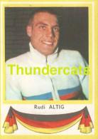 130 RIDI ALTIG GERMANY DEUTSCHLAND  ** VINTAGE TRADING CARD CYCLING ANCIENNE CHROMO CYCLISME WIELRENNEN COUREUR - Cyclisme