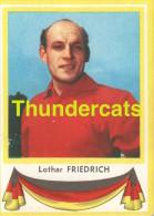 129 LOTHAR FRIEDRICH GERMANY DEUTSCHLAND  ** VINTAGE TRADING CARD CYCLING ANCIENNE CHROMO CYCLISME WIELRENNEN COUREUR - Cyclisme