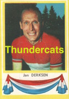 111 JAN DERKSEN PAYS BAS NEDERLAND ** VINTAGE TRADING CARD CYCLING ANCIENNE CHROMO CYCLISME WIELRENNEN COUREUR - Cyclisme