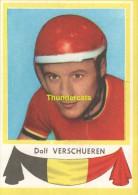 51 ADOLF VERSCHUEREN BELGIE BELGIQUE ** VINTAGE TRADING CARD CYCLING ANCIENNE CHROMO CYCLISME WIELRENNEN COUREUR - Cyclisme
