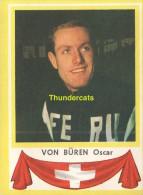 37 VON BUREN OSKAR SUISSE SWITZERLAND ** VINTAGE TRADING CARD CYCLING ANCIENNE CHROMO CYCLISME WIELRENNEN COUREUR - Cyclisme