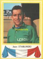 20 JEAN STABLINSKI FRANCE  ** VINTAGE TRADING CARD CYCLING ANCIENNE CHROMO CYCLISME WIELRENNEN COUREUR - Cyclisme