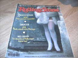 Rolling Stone Magazine : N° 15 1989 Mel Gibson - Sonstige