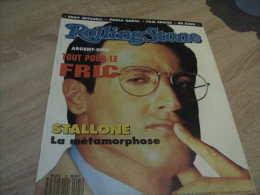 Rolling Stone Magazine : N° 25 1990 Stallone - Sonstige